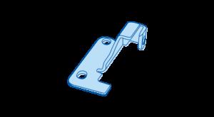 icon beschläge hellblau