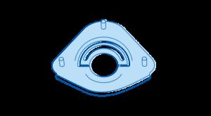 icon montageteile hellblau