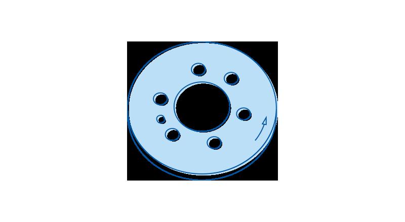 icon stanzeile hellblau